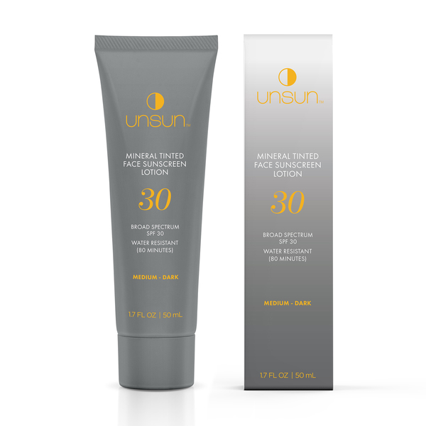 Unsun Mineral Tinted Face Sunscreen