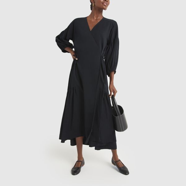 Apiece Apart Ile Wrap Dress