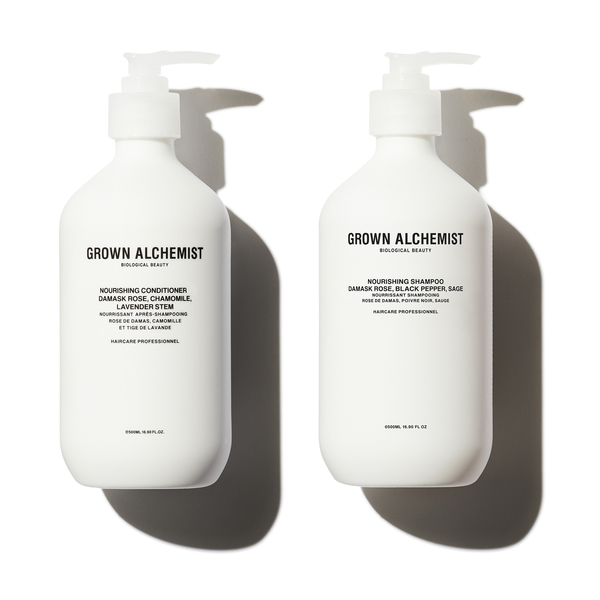 GROWN ALCHEMIST Nourishing Shampoo and Conditioner Set