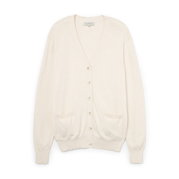 Lee Mathews Cotton-Cashmere Cardigan