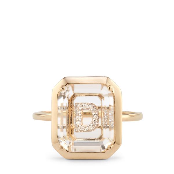 Mateo Secret Initial Ring