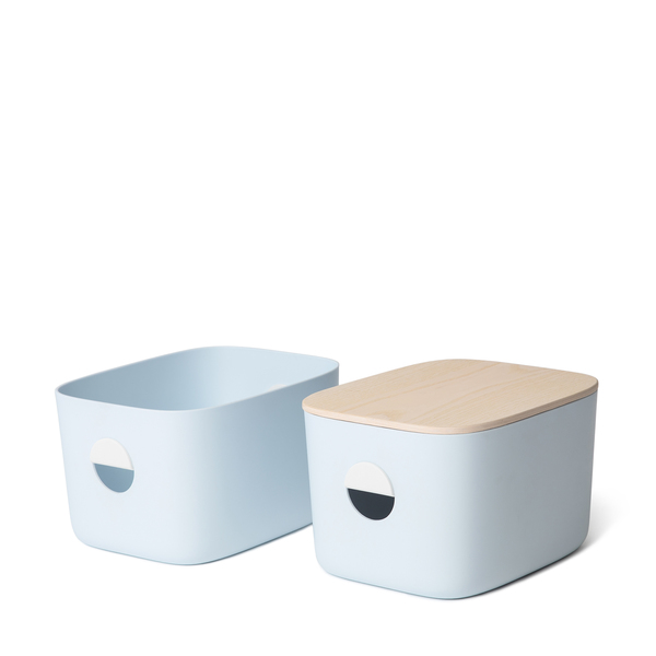 Open Spaces Medium Storage Bins, Set of 2