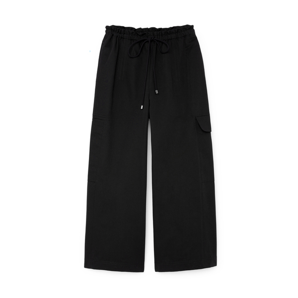 G. Label Demi Wide-Leg Drawstring Cargo Pants