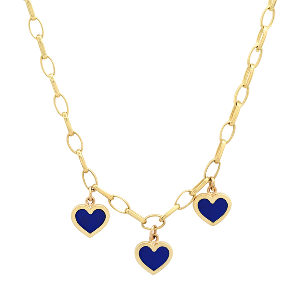 Jennifer Meyer Edith Necklace with Lapis Drops