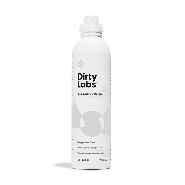 DIRTY LABS Bio Laundry Detergent: Free & Clear