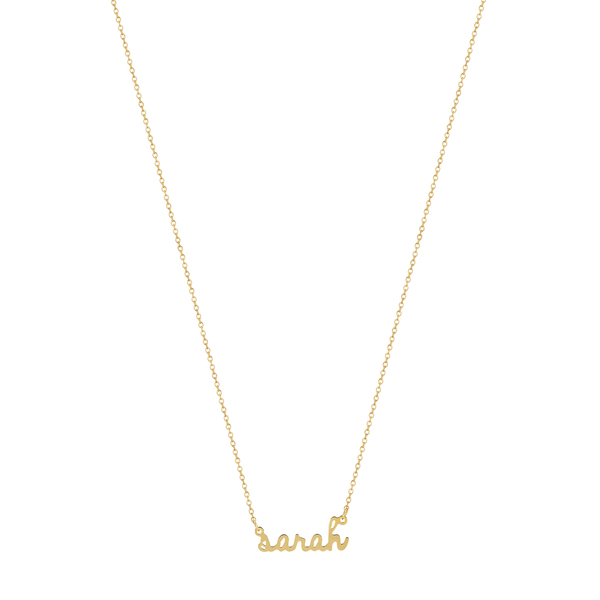 Sarah Chloe Ava Mini Name Necklace