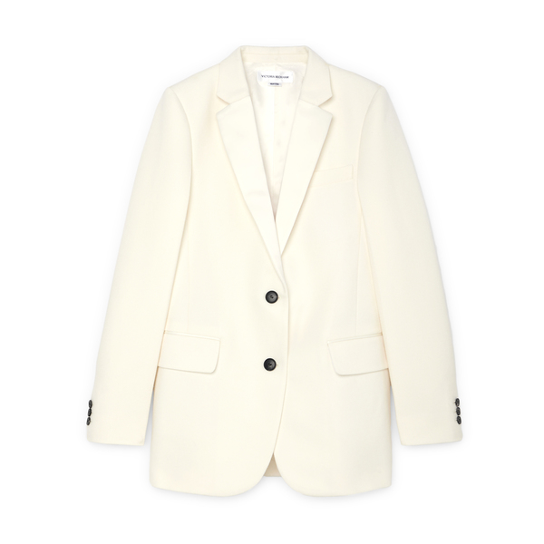 Victoria Beckham Single-Breasted Tux Jacket