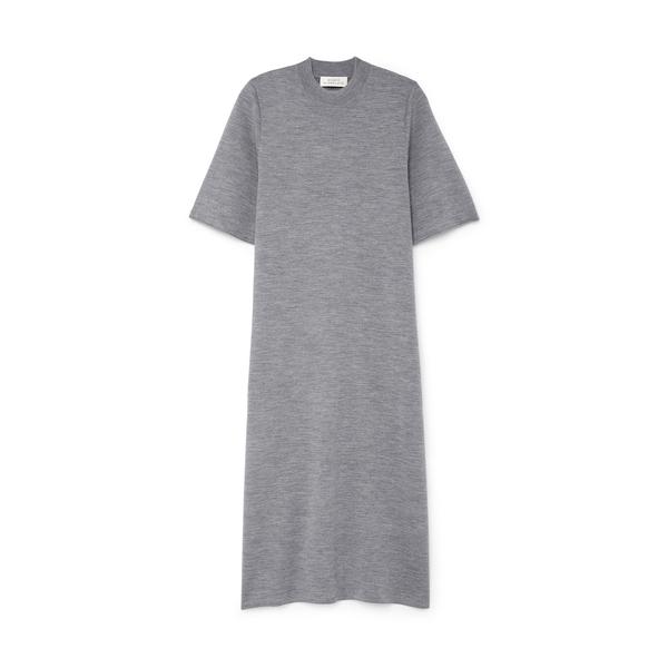 STUDIO NICHOLSON Short-Sleeve Knit T-Shirt Dress