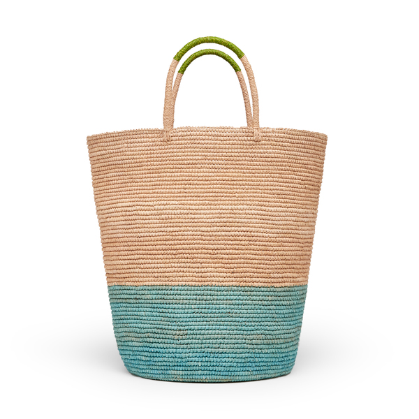 SENSI STUDIO Tall Tri-Tone Basket