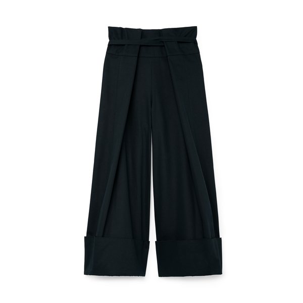 G. Label Kathy Sue High-Waisted Wrap Pants