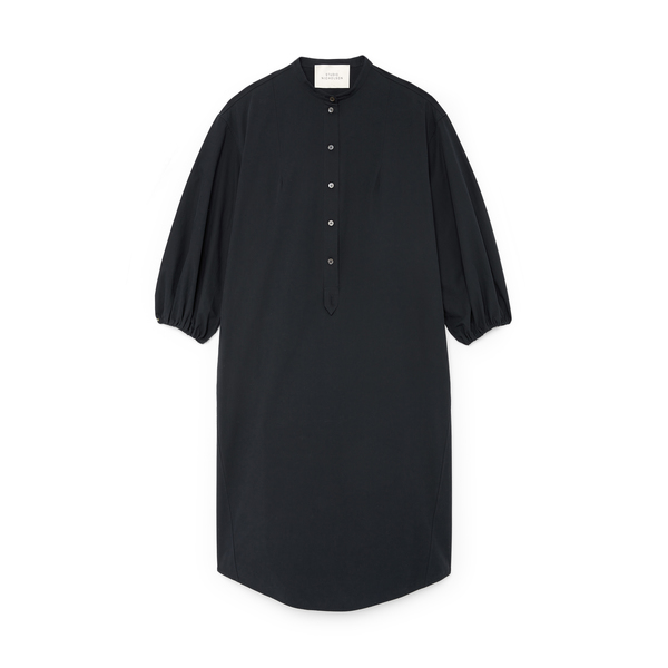 Studio Nicholson Gathered-Sleeve Shirtdress