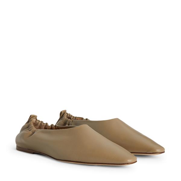 Joseph Pointy Square Ballerina Flats