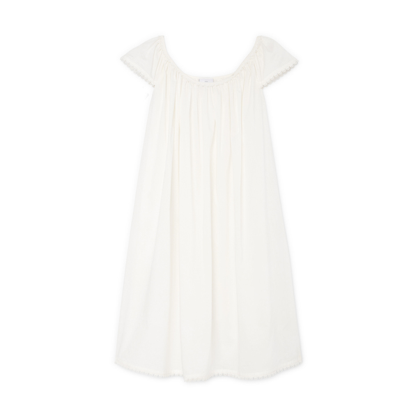 POUR LES FEMMES Cap-Sleeve Nightgown