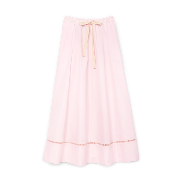 G. LABEL Louise Drawstring-Waist Midlength Skirt