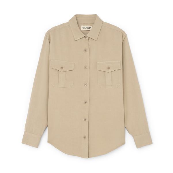 Nili Lotan Troy Shirt
