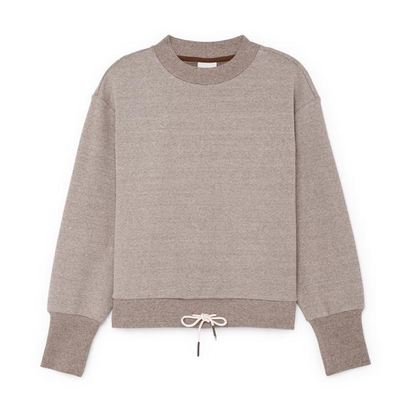 VARLEY Edith Rib Piqué Sweater