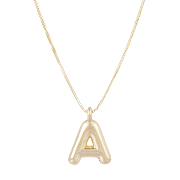 Ariel Gordon Helium Initial Pendant Necklace