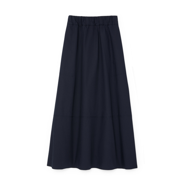G. Label Cindy Patch-Pocket Skirt