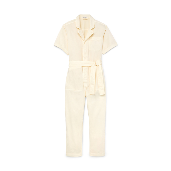 ALEX MILL Short-Sleeve Jumpsuit