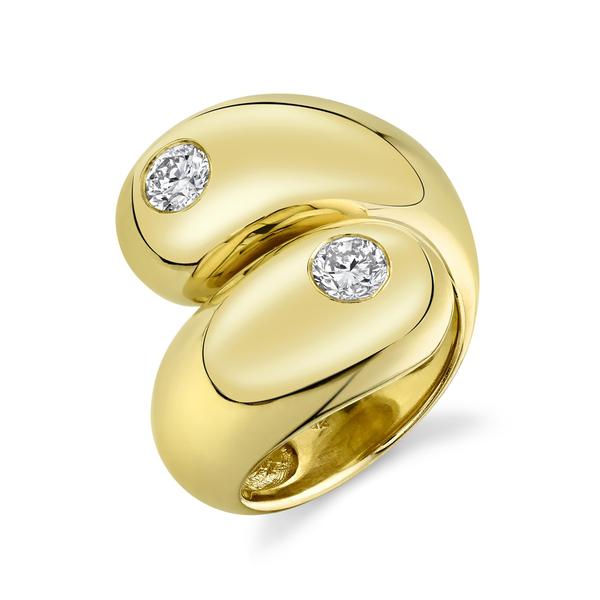Gabriela Artigas Solitare Double Apse Ring