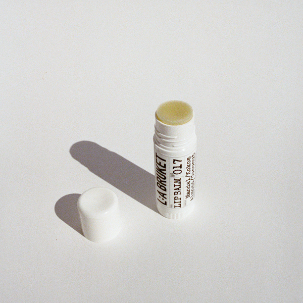 L:A BRUKET No. 017 Lip Balm Almond/Coconut