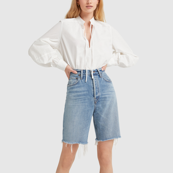 AGOLDE '90s Pinch-Waist Shorts