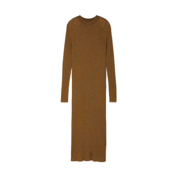 Studio Nicholson Ribbed Long Sleeve Dress