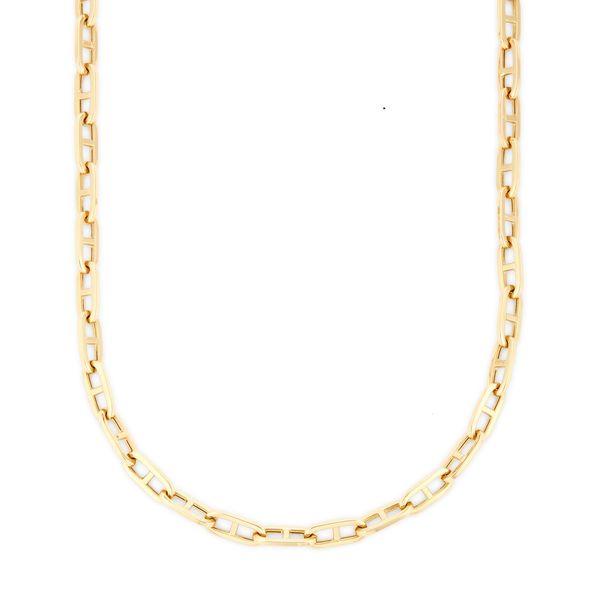 Sheryl Lowe GP Paperclip Necklace
