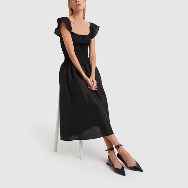 TOTEME Tea-Length Smock Dress