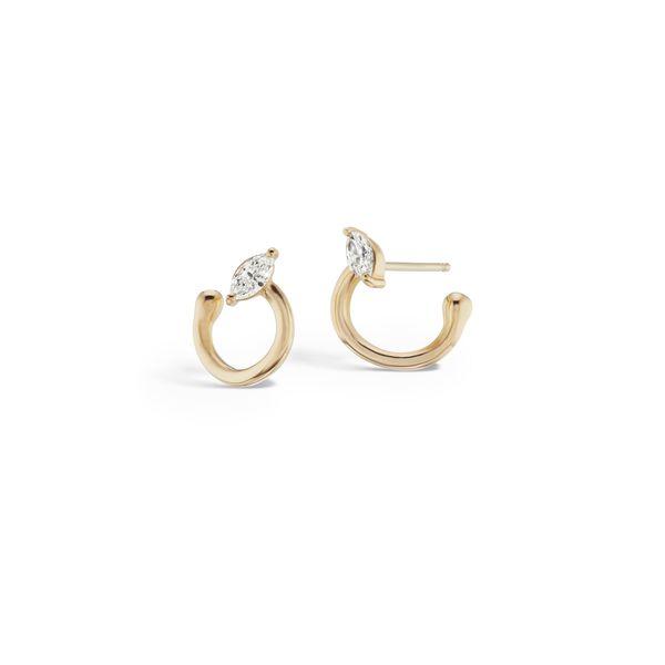 Sophie Ratner Helical Hoop Earrings