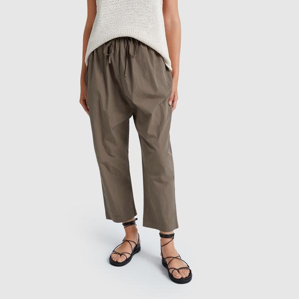 CO Elastic-Waist Drawstring Pants
