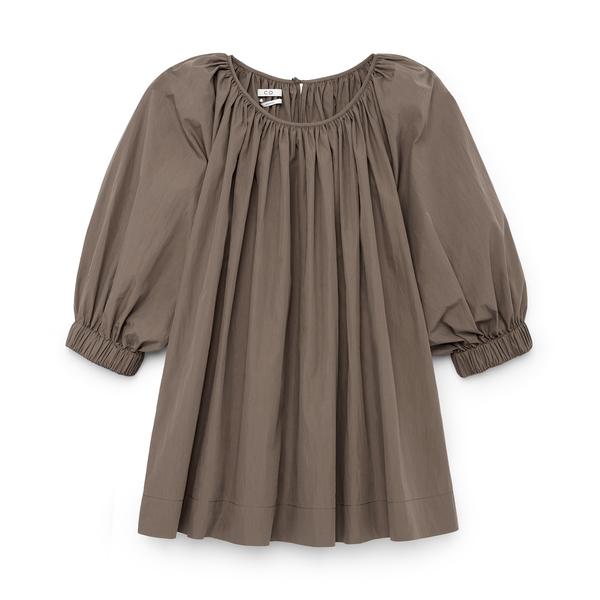 CO Gathered-Sleeve Blouse