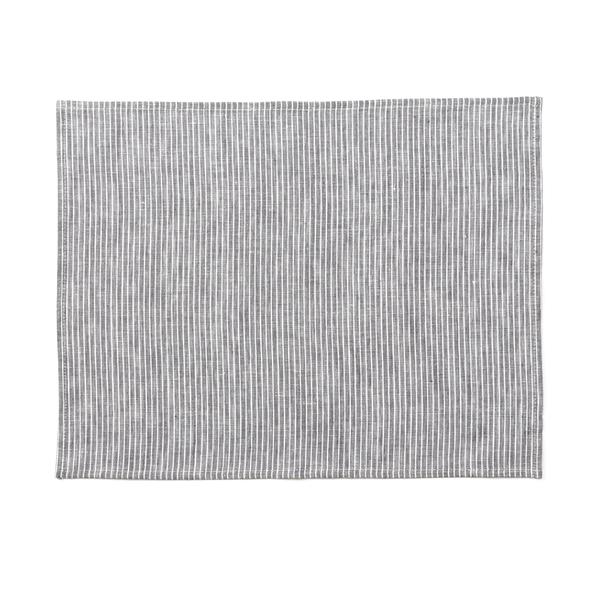 Fog Linen Striped Linen Placemat