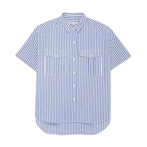 ALEX MILL Seersucker Shirt
