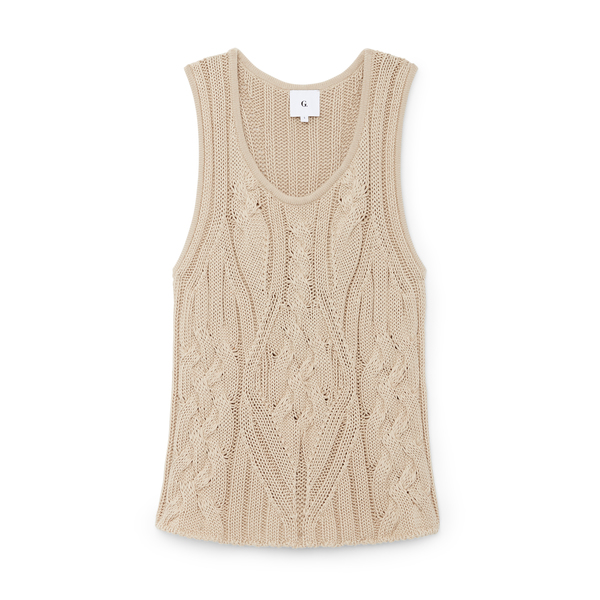 G. LABEL Joanie Cable Tank