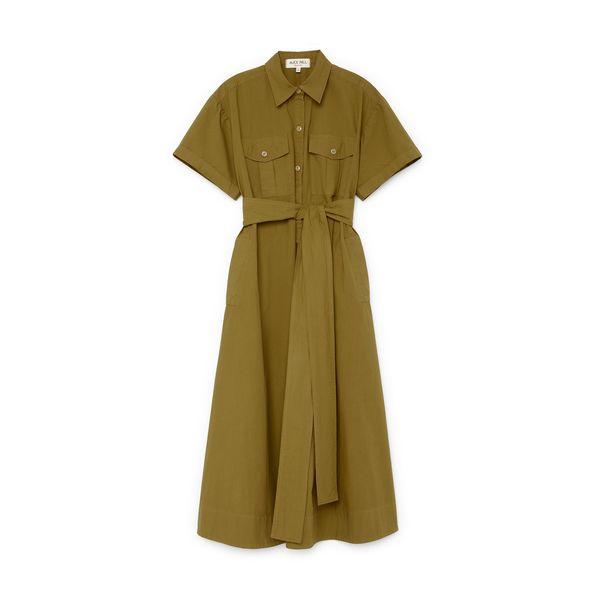 Alex Mill Safari Dress in Paper Cotton