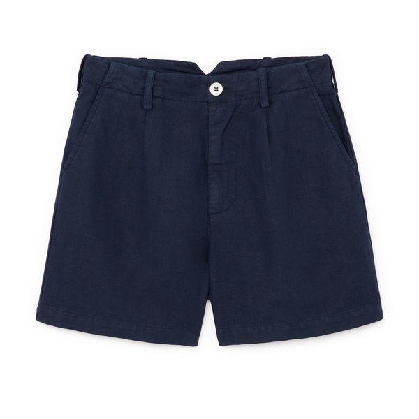 Alex Mill Oxford Linen Boy Shorts