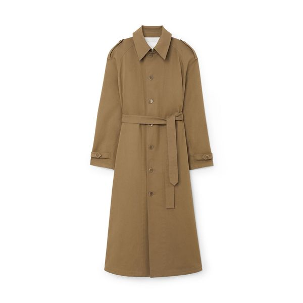 Maria McManus Single-Breasted Trench Coat