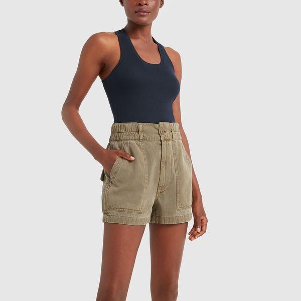 AMO Drapey Army Shorts