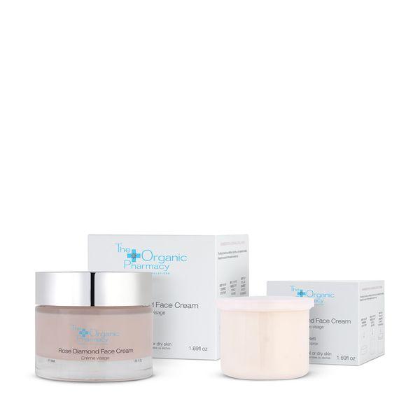 THE ORGANIC PHARMACY Rose Diamond Face Cream Refill