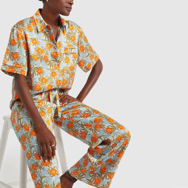 LEE MATHEWS Bella Silk Satin Shirt