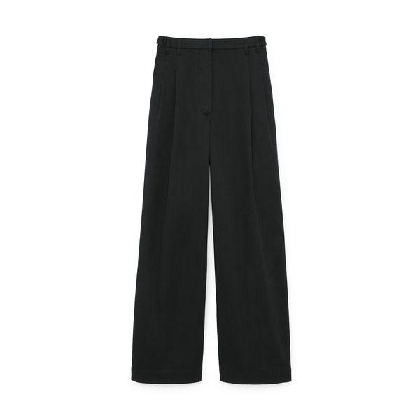 PROENZA SCHOULER Cotton Twill Wide Leg Pants