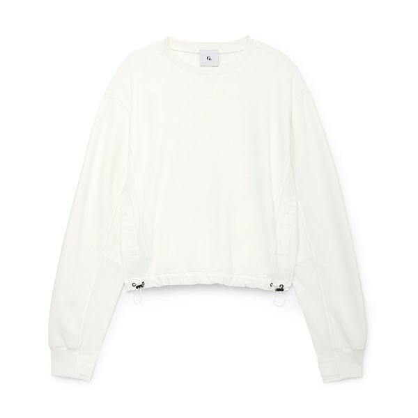 G. Label Kap Woven Combo Crewneck Sweatshirt