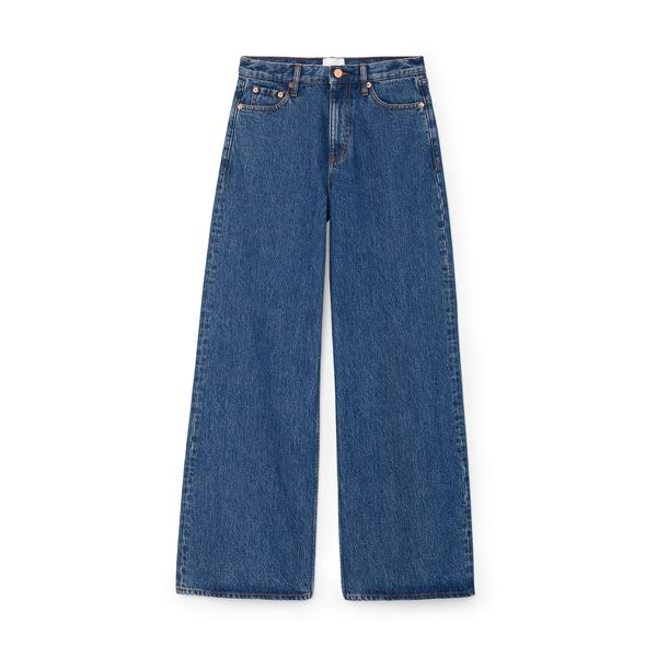 G. LABEL Geiger Wide-Leg Jeans