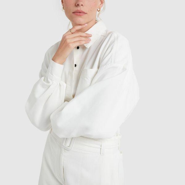 PROENZA SCHOULER Cotton Chambray Shirt