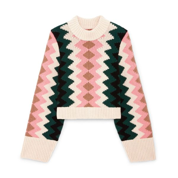 Khaite Lima Intarsia Sweater