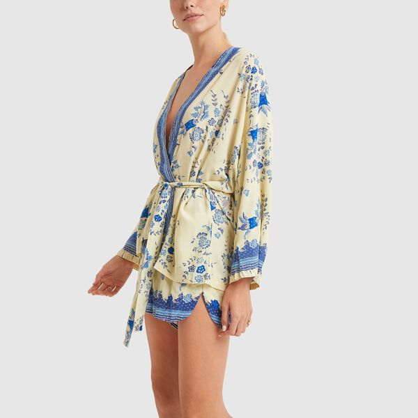 NATALIE MARTIN Saylor Kimono and Tash Shorts Set