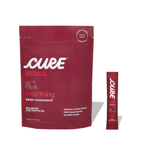 Cure Hydration Wild Thing Berry Pomegranate Daily Electrolyte Mix