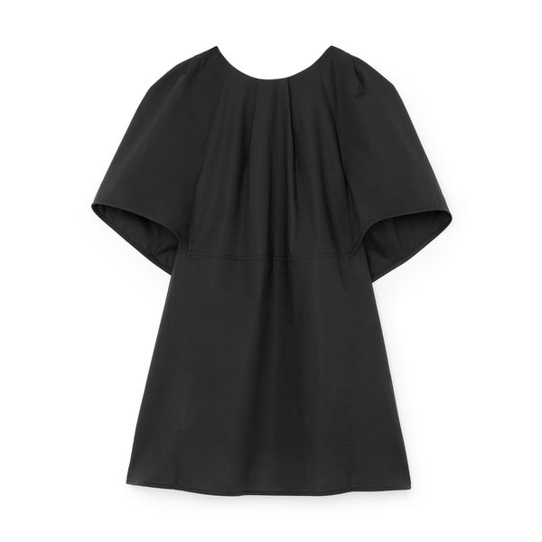 G. Label Margo Pleated-Neck Top