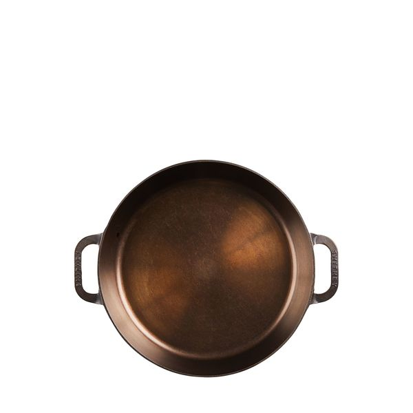 SMITHEY IRONWARE CO. No. 14 Dual-Handle Skillet